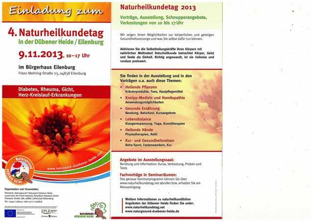 Naturheilkundetag2013Eilenburg